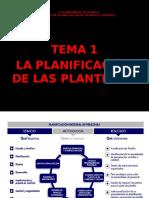Tema 01.- La Planificación de Las Plantillas