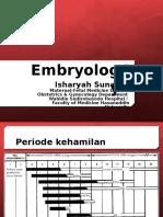 Embryology