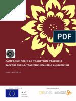 Campagne pour la Tradition Stambeli Rapport sur la tradition stambeli aujourd'hui