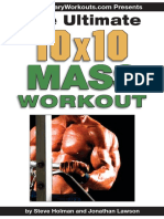Ultimate 10 x 10 Mass Work Out