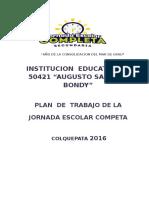 Plan Anual 2016