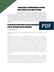 Pre-Movimientos Sociales en Colombia