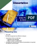 Data Presentation & Writing Skills QR