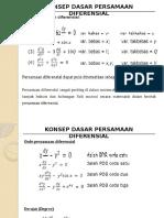 2. Konsep Dasar PD