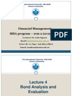 MBA FM Lec 4 Bonds S22016 Linh