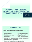 Piping Material Steel