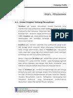 Profil Perusahaan Arwilkon Parawisata Sbb 2008