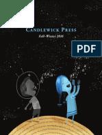 Candlewick Press Fall 2016  Catalog