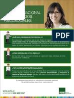 Afiche Informativo Protocolo Trabajadores Todos Los Rubros ACHS