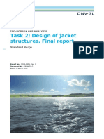ISO NORSOK Analysis Designjackets Final Report Task 2 April2015