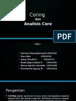 4. Coring Dan Analisis Core