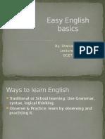 Easy English Basics