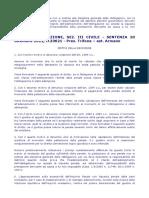 Cassciv23621_2012 Clausola Penale