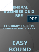 2015 General Business -Easy