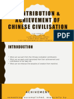 Factor That Contribute to the Achievement of Chinese Civilization [Autosaved]