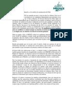 Declaración Pública Leo Méndez