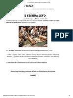 La Torah Que Yeshua Leyo _ Respuestas en Torah