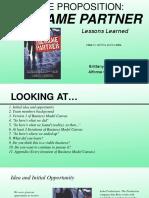Lessons Learned Presentation 9 Name Partner
