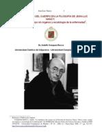 LAS METÁFORAS DEL CUERPO EN LA FILOSOFÍA DE JEAN-LUC NANCY Por Adolfo Vásquez Rocca PH.D.
