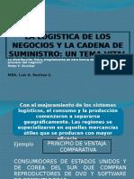 La Logistica de Los Negocios y La Cadena