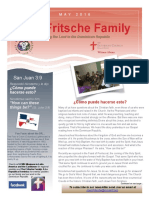 Fritsche Mission Newsletter - May 2016