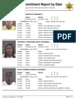 Peoria County Jail booking sheet 05/22/2016