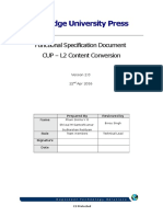 CUP L2ContentConversion FSD v2