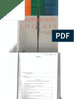 Cap Livro as Representações Sociais - Abric