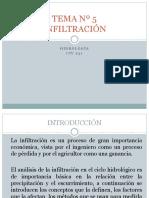 5 HIDROLOGIA INFILTRACIÓN