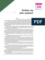 Telecurso 2000 - Ensino Fund - Português - Vol 03 - Aula 50