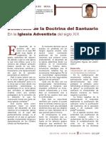 Desarrollo de La Doctrina Del Santuario en La Iglesia Adventista Del Siglo XIX