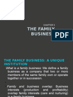 Chapter 5 - The Family Business