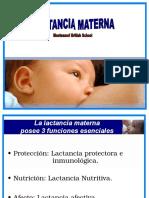 Lactancia Materna para estudiantes