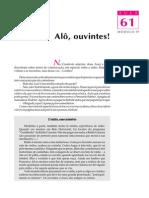Telecurso 2000 - Ensino Fund - Português - Vol 03 - Aula 61