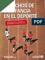 Derechos de La Infancia en El Deporte