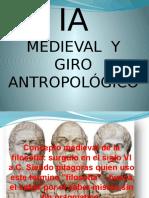 FILOSOFIA Antigua, Giro Antropológico