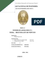 Informe 3 Segunda Ley de Newton