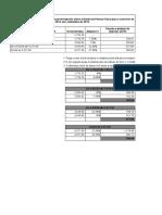 Calculo Parcela a Deduzir IRPF