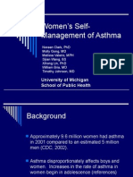 Womens Self-Management of Asthma