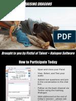 FOT Webinar - Raising Dragons - May 2016 - FINAL.pptx