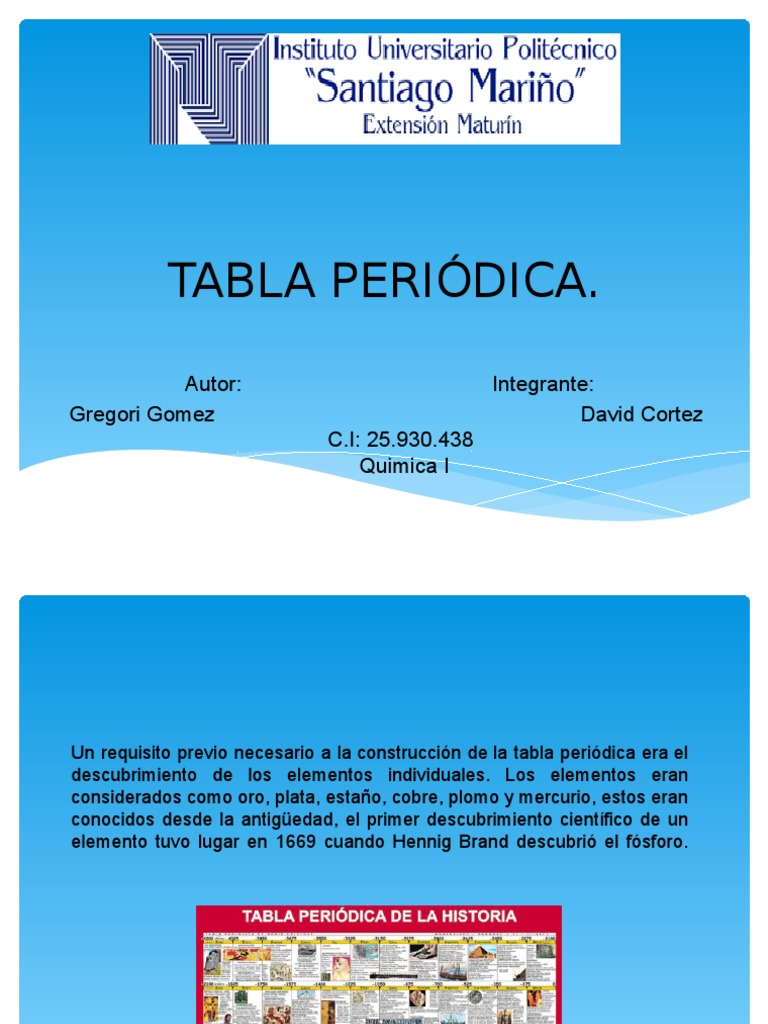 tabla peridica de los elementos qumicos - Tabla Periodica De Los Elementos Quimicos Universitaria
