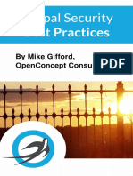 Drupal Security Best Practices