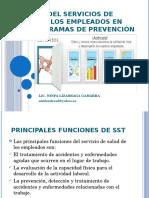 FUNCIÓN DEL SERVICIOS DE SALUD EN LOS EMPLEADOS.pptx