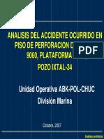 Accidente Con H2s en Plataforma Rig 3