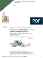 Como Usar Os Gêneros Para Ensinar Leitura e Produção de Textos _ Língua Portuguesa _ Nova Escola