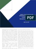 Investor Presentation 20luglio2015