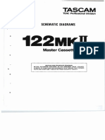 Tascam TEAC 122MKII Master Cassette Deck (schematic diagrams).pdf