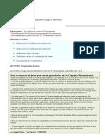 Evaluación Diagnóstica Octavo