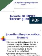 13 1 Jocurile Olimpice Trecut Si Prezent