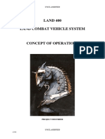 Land 400 - Concept of Operations 2012